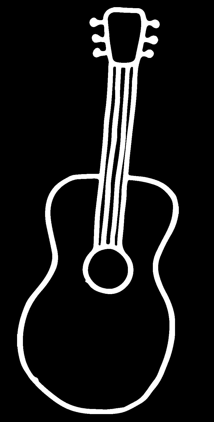 cartoon guitarra